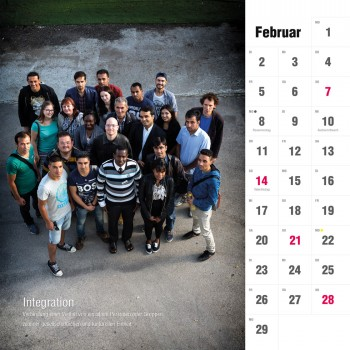iiiK Kalender Februar 2016