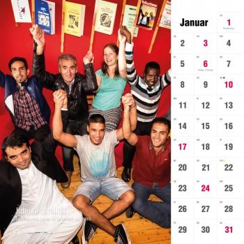 iiiK Kalender Jänner 2016