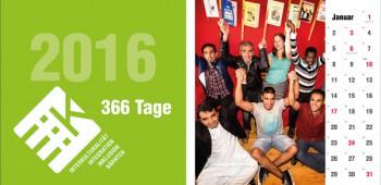 Wandkalender 2016 - 366 Tage iiiK